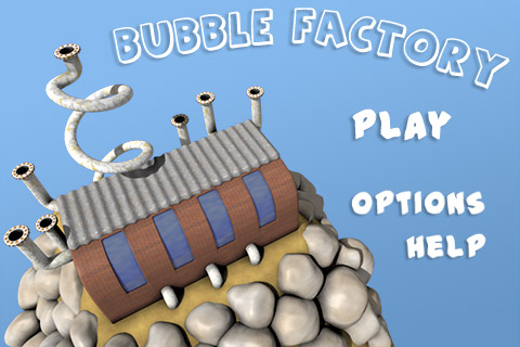 Bubble Factory - Main Menu